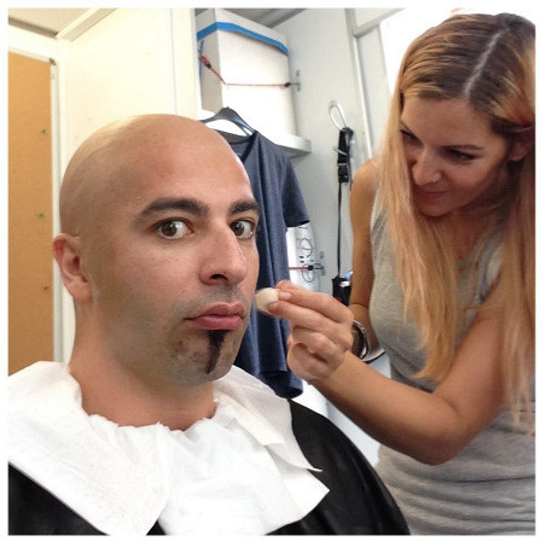 Bülent Ceylan mit Glatze