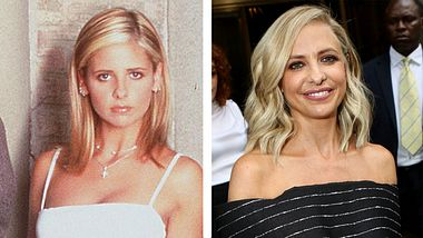 Sarah Michelle Gellar damals und heute - Foto: Getty Images / Getty Images