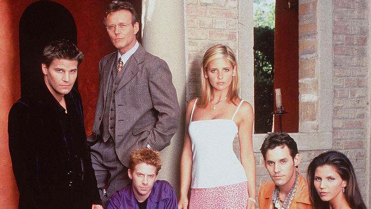 """Die Darsteller von """"Buffy - Im Bann der Dämonen"""" 1998"""