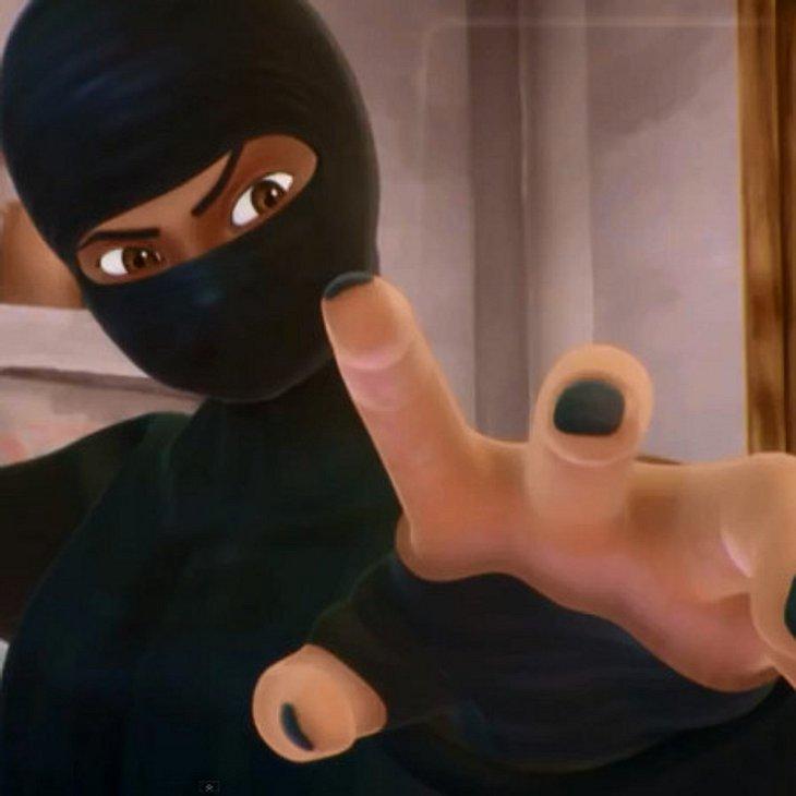 """Comic-Heldin """"Burka Avenger"""" sorgt für Ärger"""