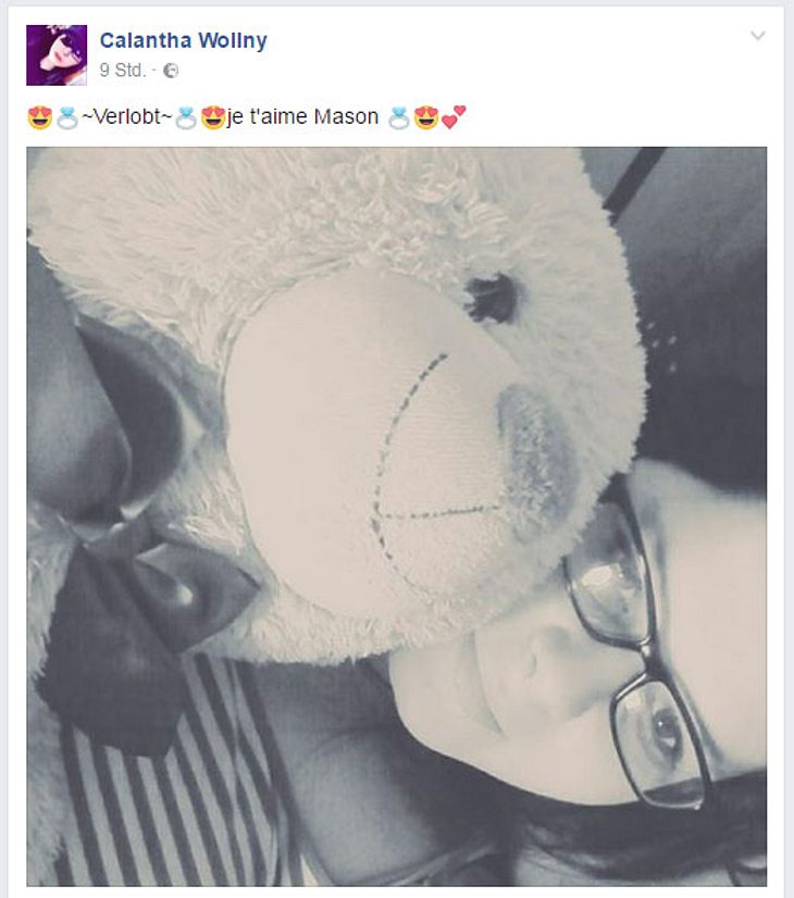 Calantha Wollny ist verlobt