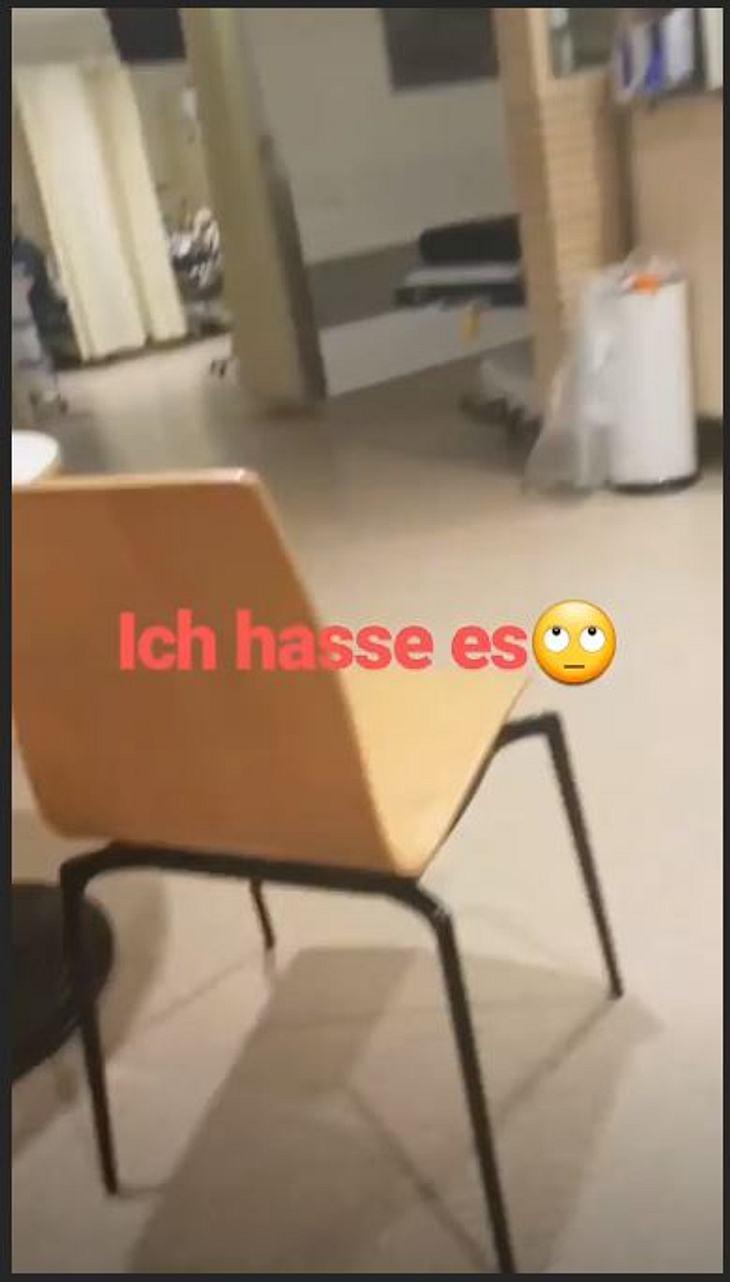 Calantha Wollny ist offenbar im Krankenhaus