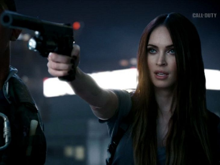 "Megan Fox bei ""Call of Duty"""