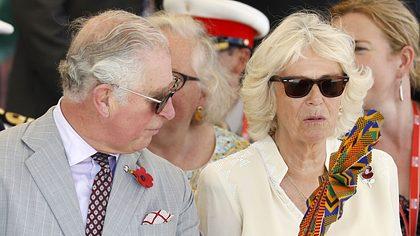 Eiskalt sitzengelassen von Herzogin Camilla!