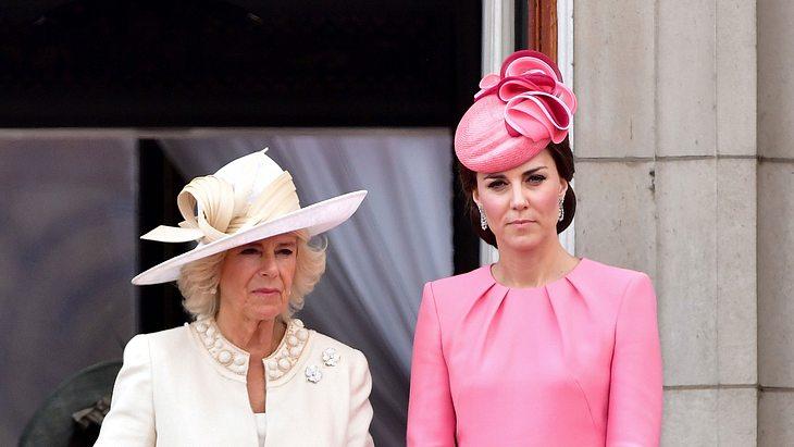 Herzogin Camilla und Herzogin Kate