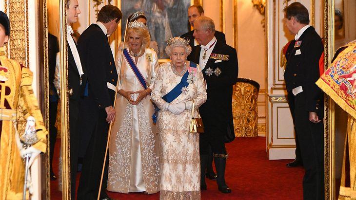 Herzogin Camille und Queen Elizabeth II.