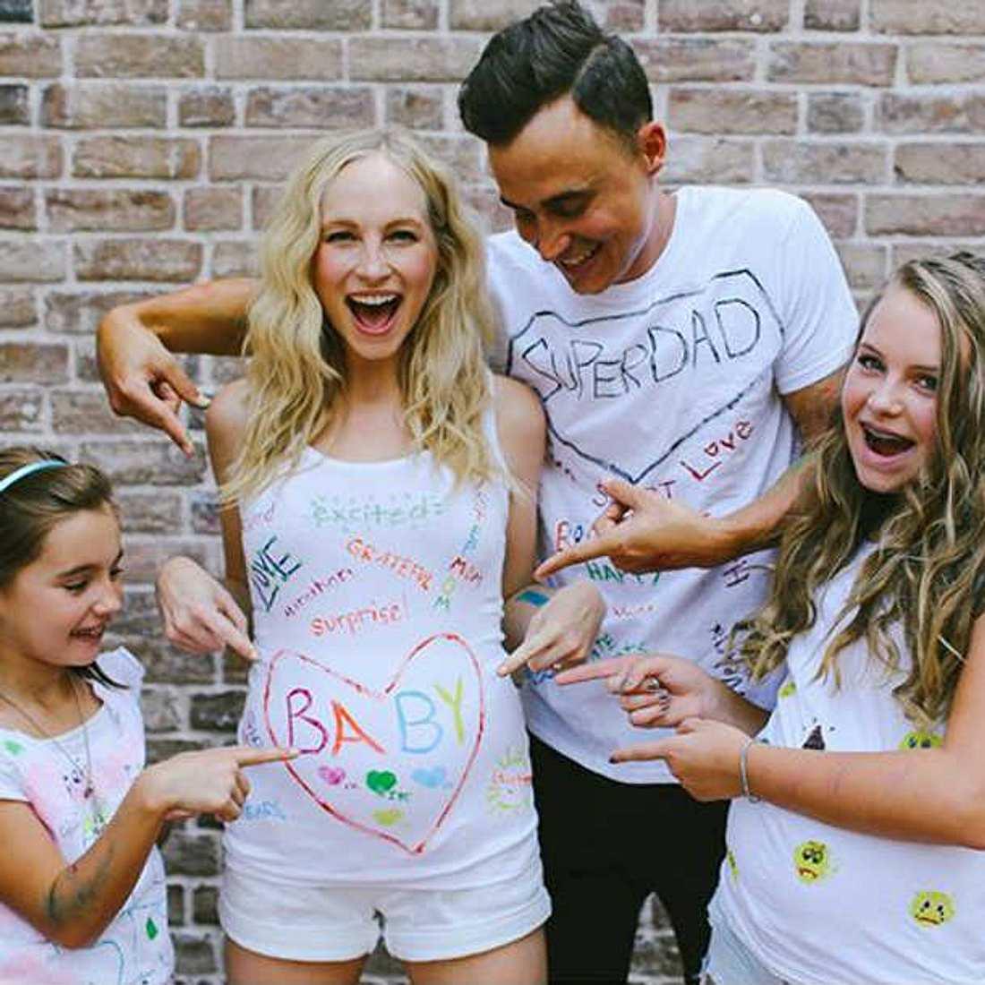 Candice Accola freut sich auf ihr erstes Baby