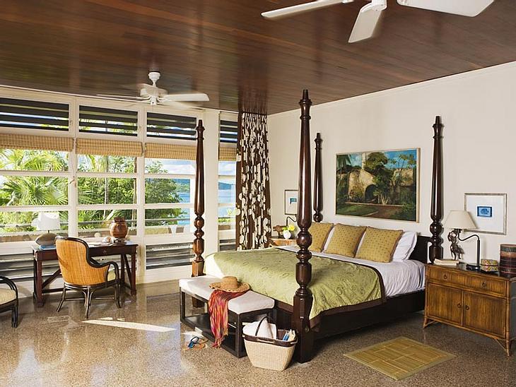 """Luxus-Hotels: Hier steigen die Stars abGehaust wird in dieser Zeit im """"Cottage 7"""", einem Urlaubsheim, das mit fünf Schlafzimmern ausgestattet ist und den schönsten Meerblick bietet. Sollten die Brangelina-Kids nicht jeweils zu zwe"""