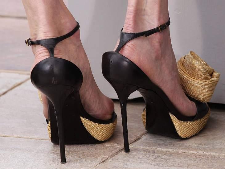Cannes Schuhe bei denen unser Herz höher hüpft - an den Füßen von Tilda Swinton.