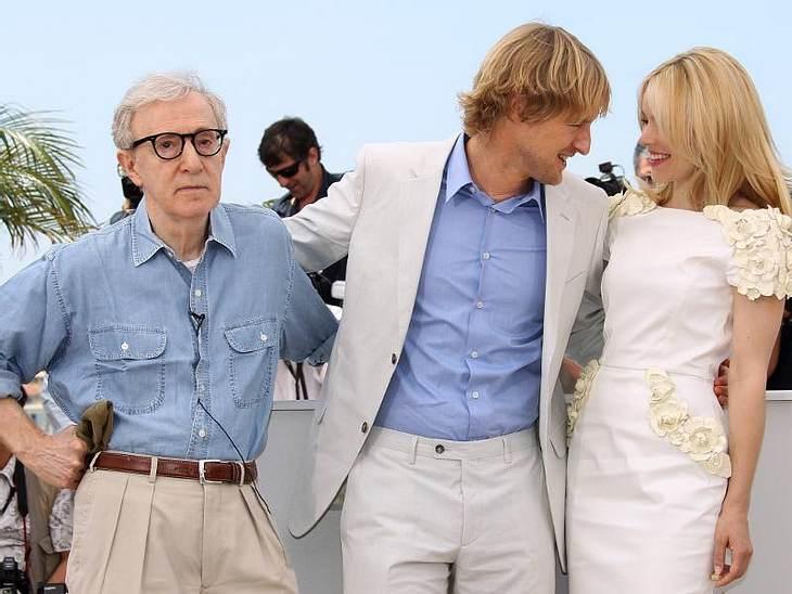 Cannes Owen Wilson flirtet mit Rachel McAdams und Woody Allen guckt dumm aus der Wäsche.