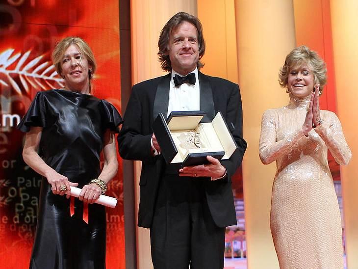 """CannesAuch der neue Film von Brad Pitt """"Tree of Life"""" bekam eine """"Goldene Palme""""."""