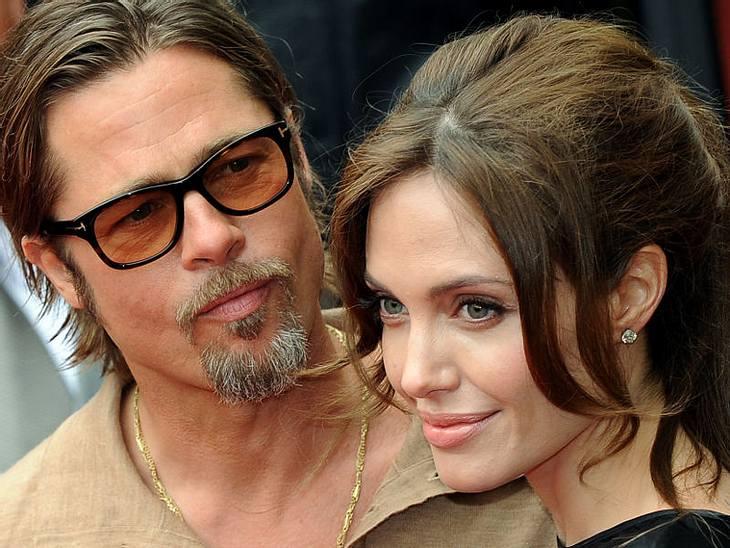 CannesBrad Pitt und Angelina Jolie konnten sich über den Erfolg ihrer Filme freuen.