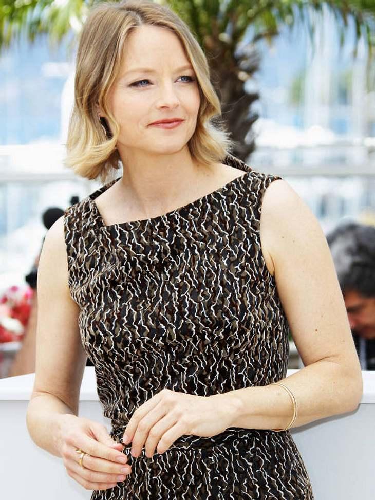 """CannesJodie Foster brachte nach Cannes ihren Film """"The Beaver"""" mit."""