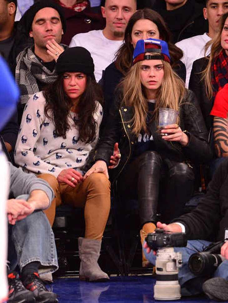 Cara Delevingne & Michelle Rodriguez: Beziehung nur Fake?