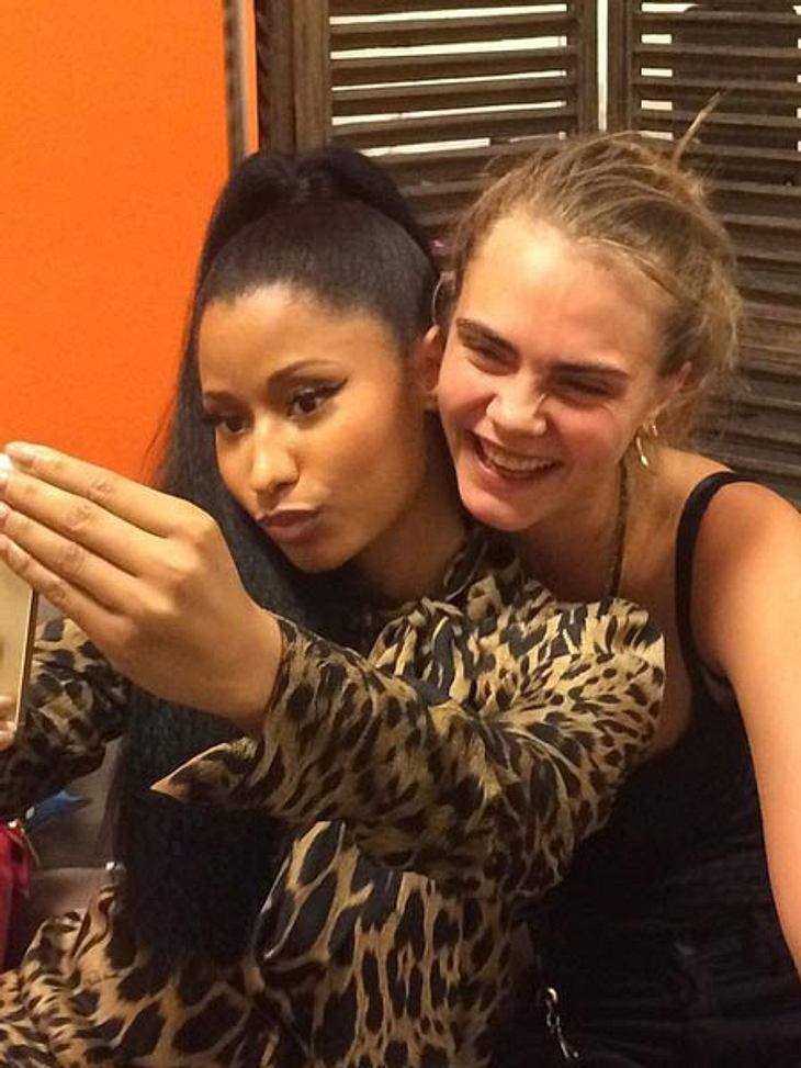 Was läuft zwischen Cara Delevingne und Nicki Minaj?