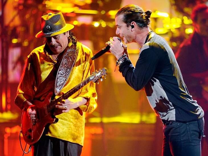 MTV Music AwardsGavin Rossdale und Carlos Santana.