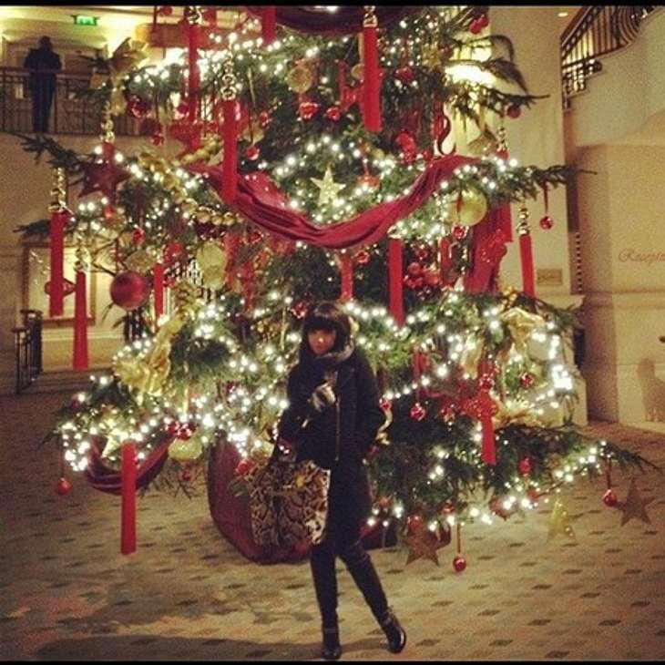 Ho Ho Ho - Stars im WeihnachtsfieberDas ist wirklich mal ein imposanter Weihnachtsbaum. Findet wohl offenkundig auch Carly Rae Jepsen (27), die sich vor dem Riesenbaum knipsen ließ.