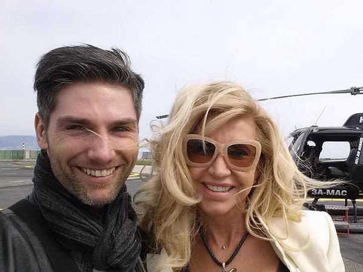Carmen Geiss und Tanz-Partner Christian Polanc fliegen nach St. Tropez.