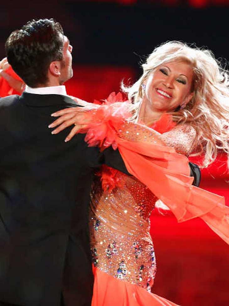"""Carmen Geiss: Hochmotiviert bei """"Let's Dance""""."""