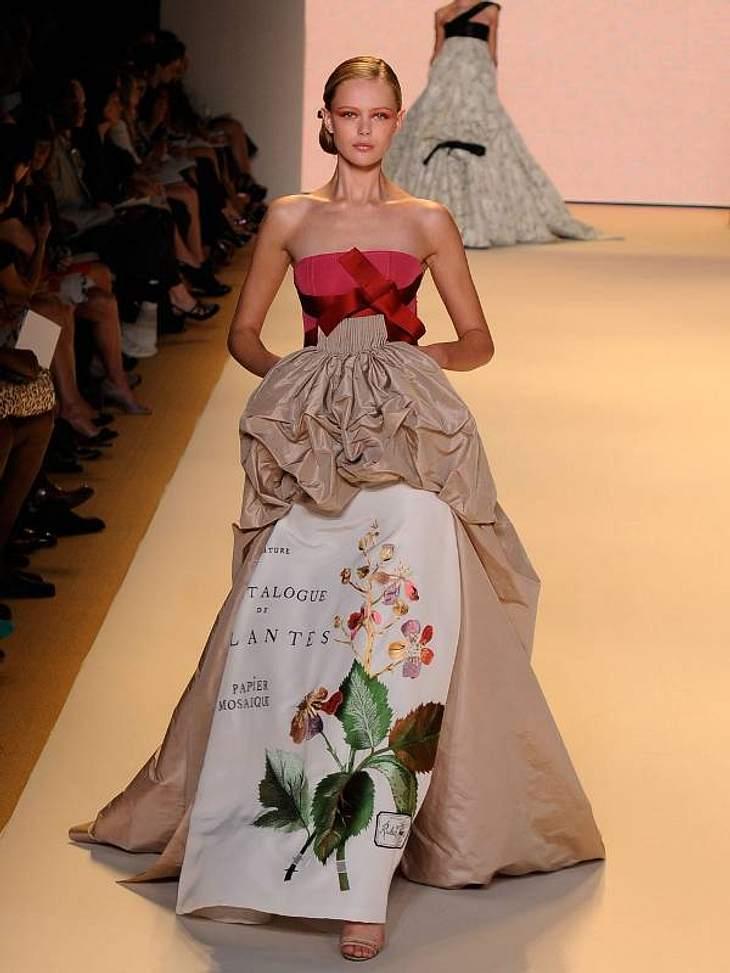 In der Show von Carolina Herrera kam man sich vor wie im Märchen. Es gab zauberhafte Roben ...