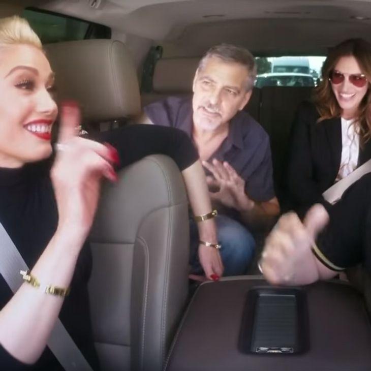 Gwen Stefani singt mit George Clooney und Julia Roberts
