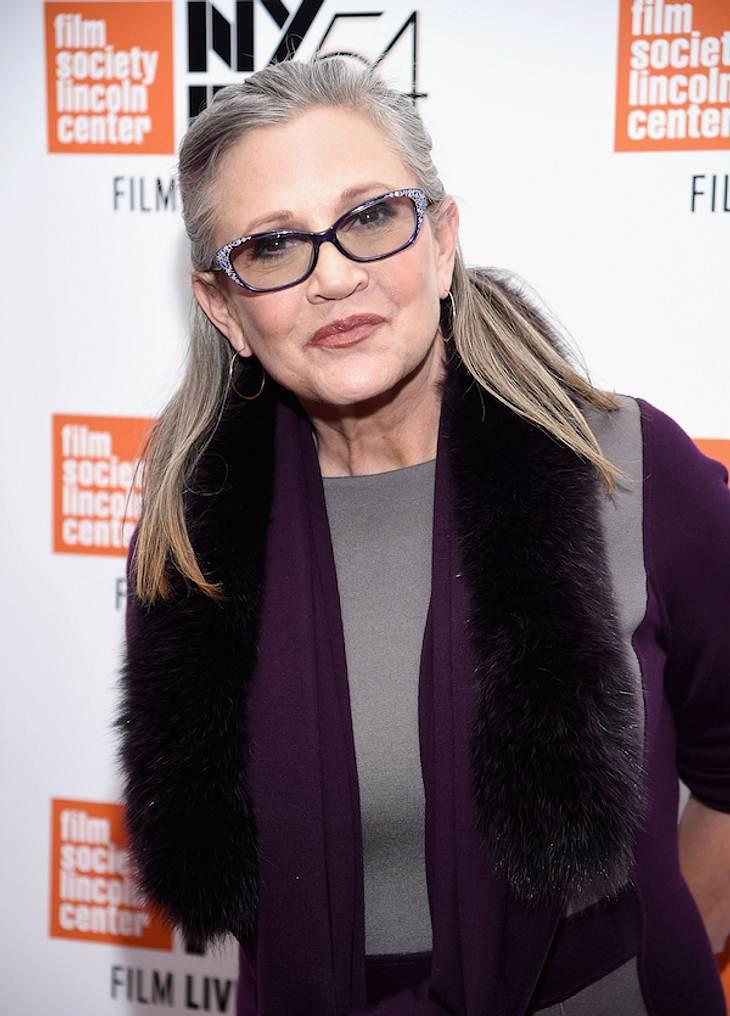 "Schock: ""Prinzessin Leia"" Carrie Fisher erleidet Herzinfarkt"