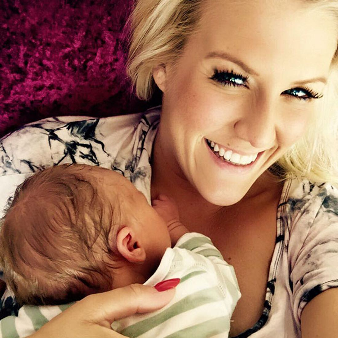 So süß: Cascada zeigt erstes Baby-Foto!