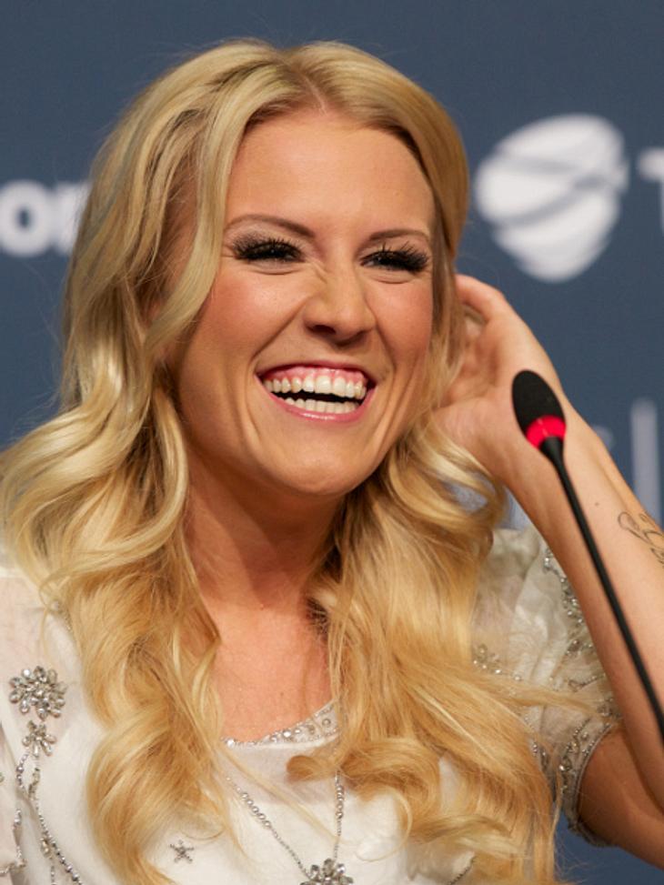 Trotz ESC 2013-Pleite vergeht Natalie Horler das Lächeln nicht.