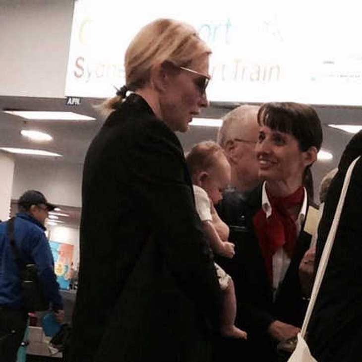 Cate Blanchett zeigt ihr Baby!