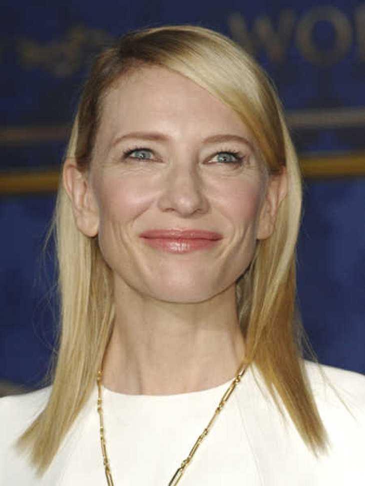 Cate Blanchett hatte Beziehungen zu Frauen.