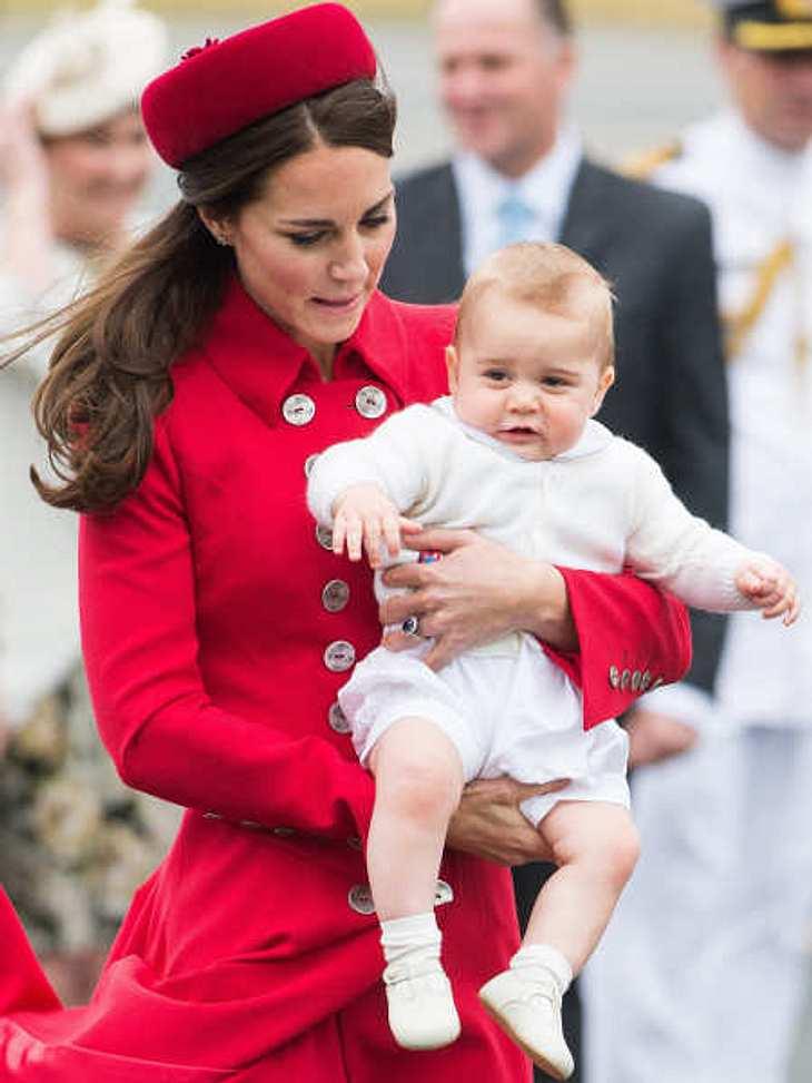 Prinz George feiert bald seinen ersten Geburtstag.
