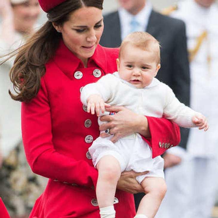 Herzogin Kate und Prinz George in Neuseeland