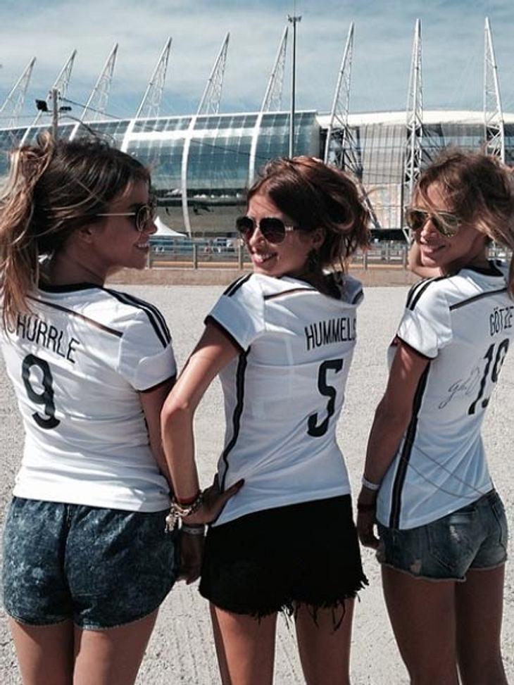 Bei der WM 2014 sind unsere Spielerfrauen nicht immer erwünscht...