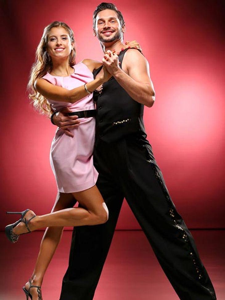 Cathy Fischer tanzt mit Marius Iepure