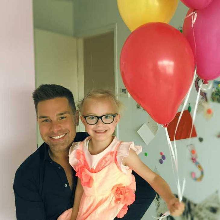 Vaterstolz: Caught in the Act-Star Eloy de Jong feiert Tochter Indy!