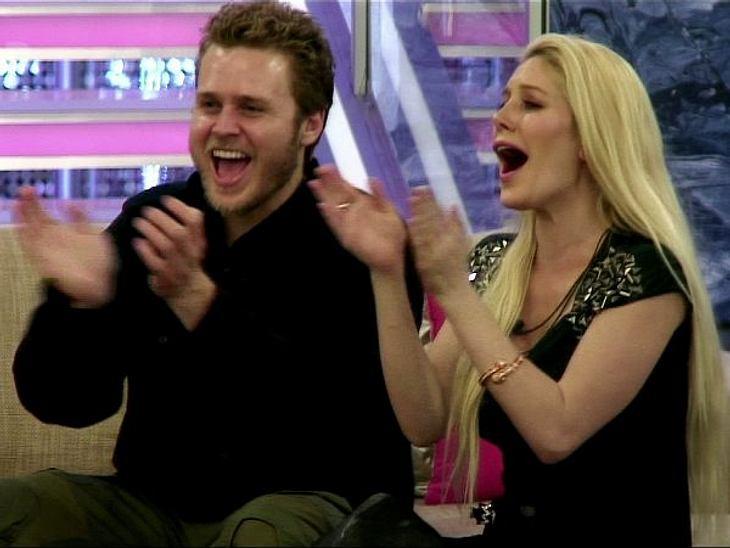 """Heidi Montag und Spencer Pratt amüsierten sich prächtig bei """"Celebrity Big Brother"""" in England"""