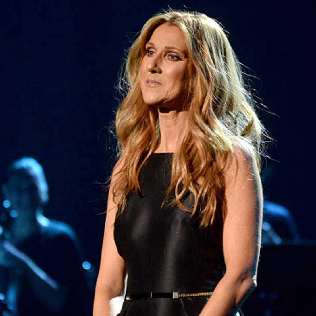 Celine Dion Auftritt Tod Mann