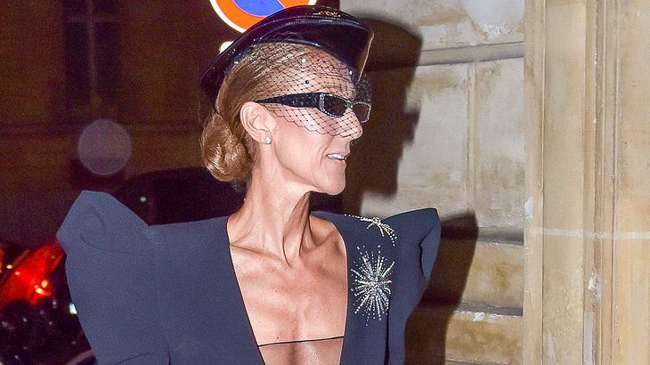 Celine Dion mager