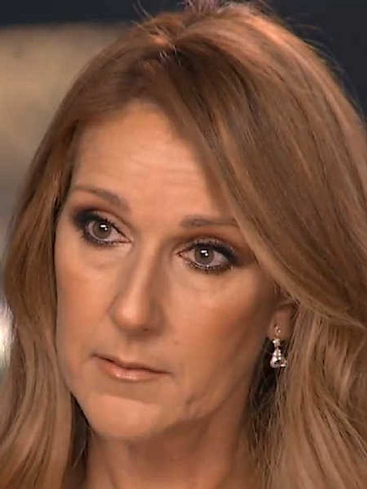 Céline Dion: Bittere Tränen vor laufenden Kameras!