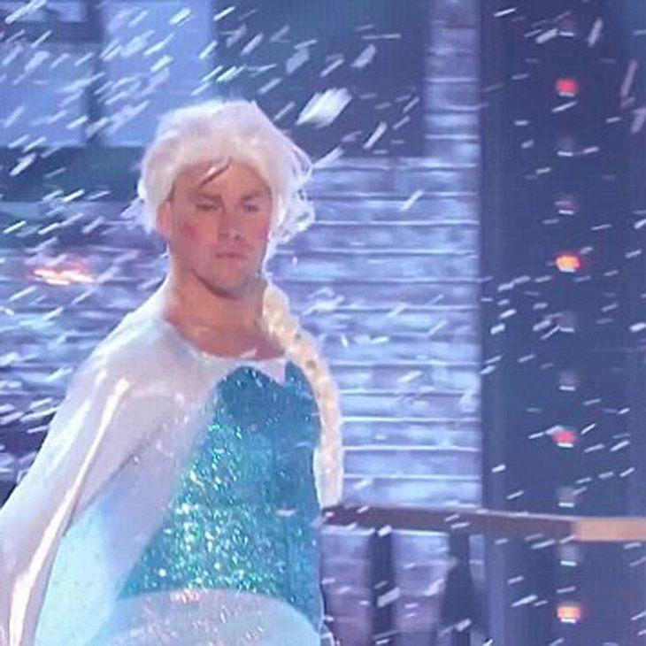 Channing Tatum als Eisprinzessin Elsa