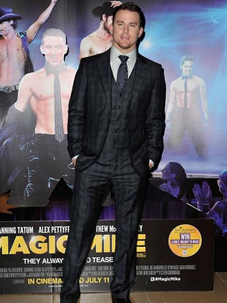"""""""Fifty Shades Of Grey"""": Ganz Hollywood kämpft um die HauptrolleAuch Channing Tatum (32) würde gerne vor der Kamera die Peitsche knallen lassen. Dass er mit Nacktszenen keine Probleme hat, hat der Schauspieler schon öfter unter Bew"""