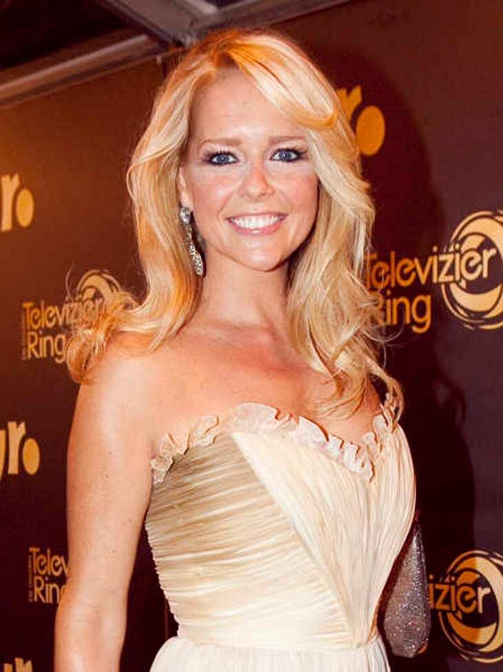 Sie ist blond, Holländerin, Mutter, 36 und Moderatorin: Chantal Janzen