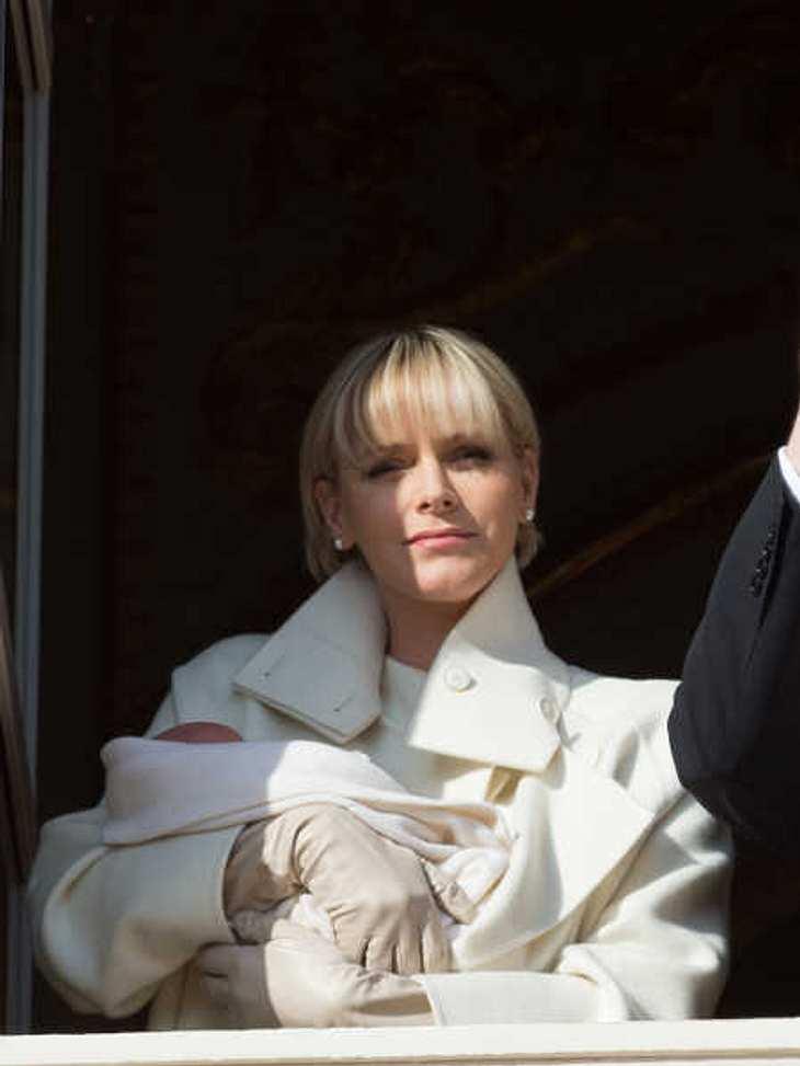 Fürstin Charlene wohnt vorübergehend auf dem Landsitz.