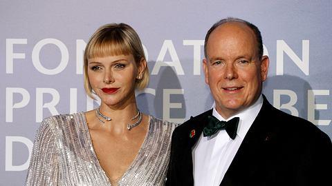 Charlene von Monaco und Fürst Albert II: - Foto: Getty Images