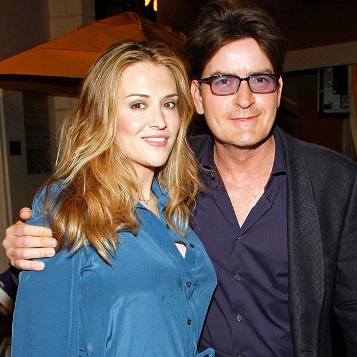 Nicht einmal zwei Jahre sind Charlie Sheen und Brooke Mueller verheiratet - da könnte die Ehe auch schon wieder vorbei sein...