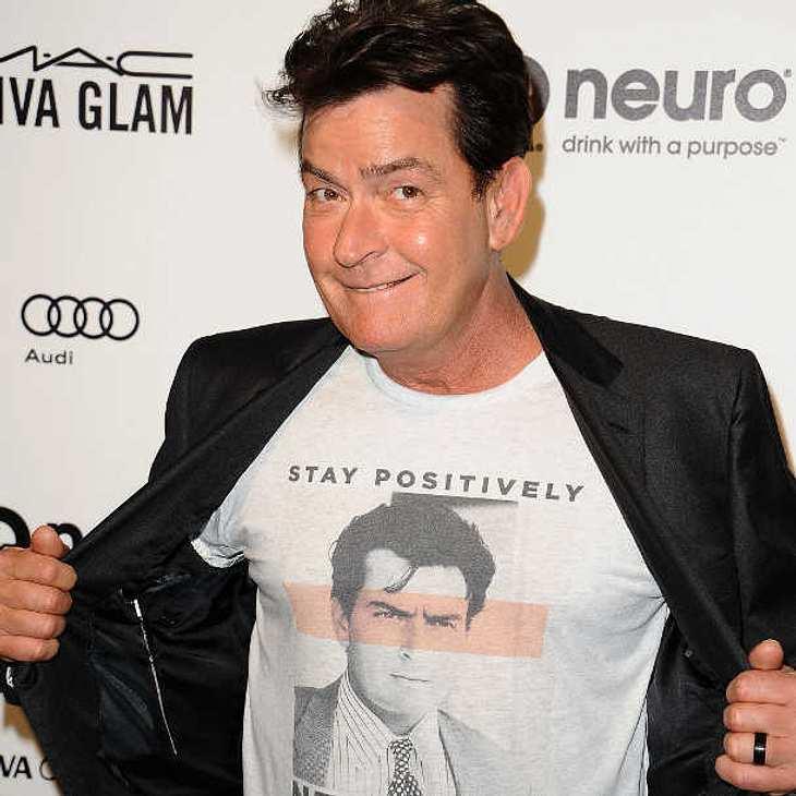 Charlie Sheen: Mit Humor gegen HIV!