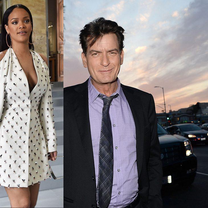 Charlie Sheen beschimpft Rihanna im TV als Schlampe!