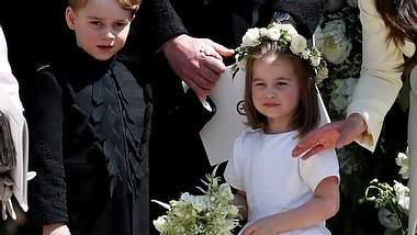 Hochzeitsablauf wegen George & Charlotte geändert