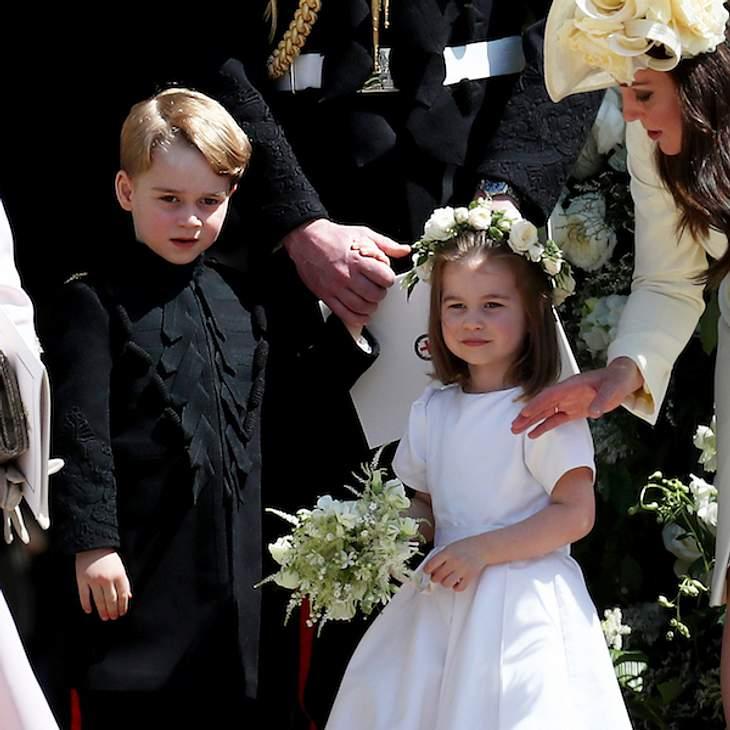 Zu viele Faxen: Hochzeitsablauf wegen George & Charlotte geändert