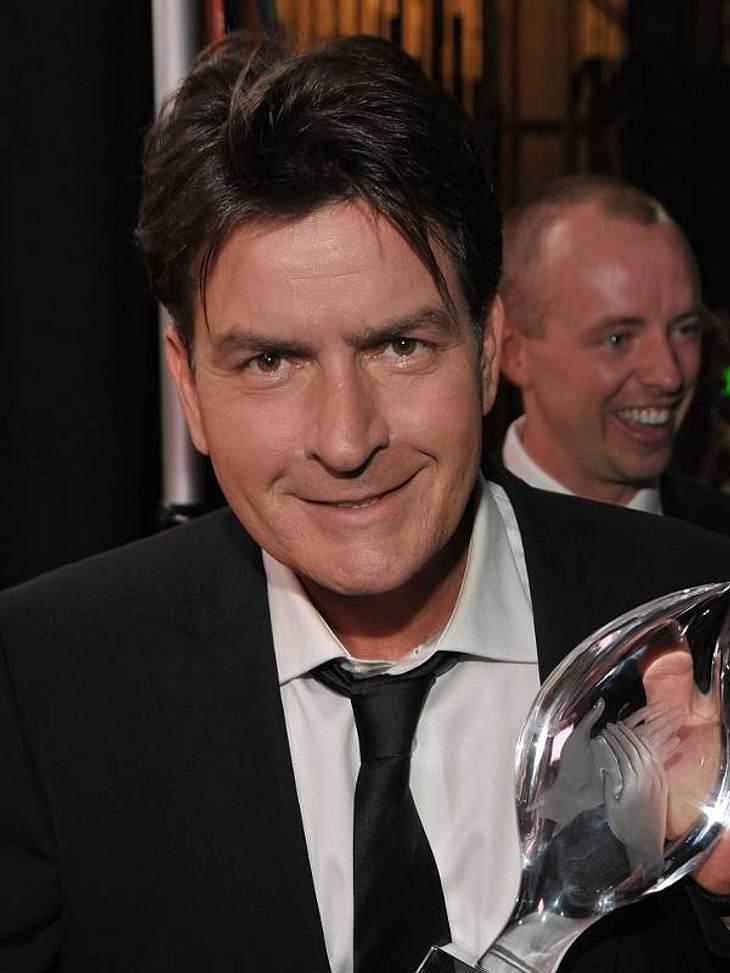 """Charlie Sheen hat für """"Two And A Half Men"""" einige Fernseh-Preise gewonnen"""